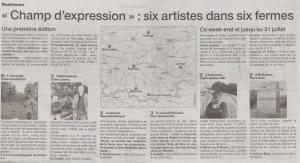 Ouest-France les 1er et 2 juin 13