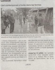 Ouest-France, le  05 juin 13