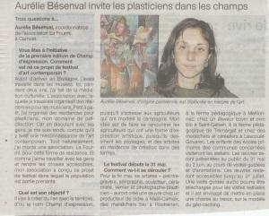 Ouest-France, jeudi 9 mai 2013