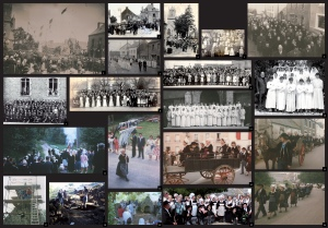 """Panneau """"Histoire et Tradition"""""""