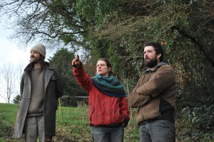 Olivier Pousset et Clara accueillent Guillaume Castel à Saint-Servais