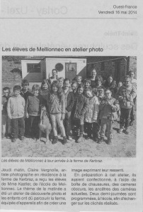 Ouest-France le 17 mai 14