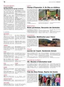 Le Télégramme samedi 25 avril 2015