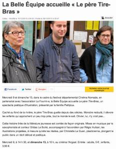 Ouest France du 08/12/2015