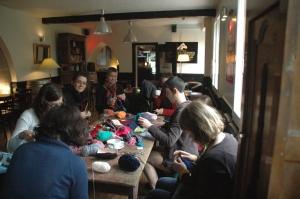 Café tricot en 2013